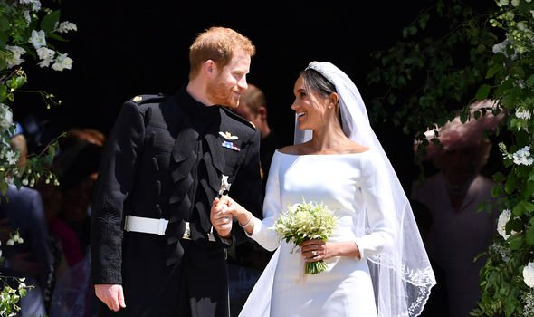 Meghan married Prince Harry in May Image GETTY