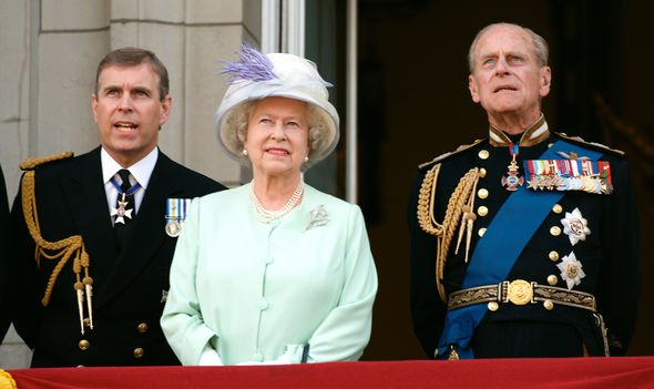 Prince Andrew spoke about Camilla to the Queen and Prince Philip Image GETTY