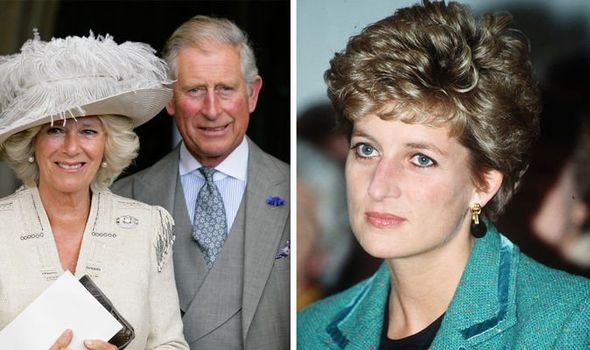 Prince Charles and Camilla How Charles became 'callous' as he couldn't deal with Diana Image GETTY
