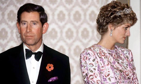 Prince Charles and Diana Image GETTY