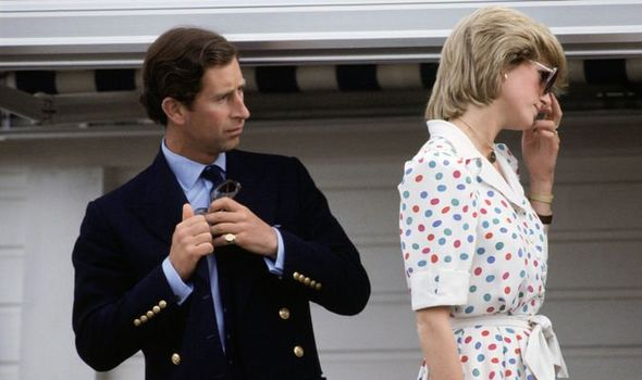 Prince Charles and Princess Diana Image Getty