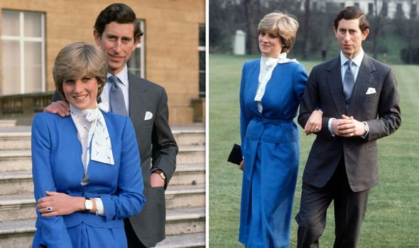 Prince Charles and Princess Diana became engagaed in Image Getty