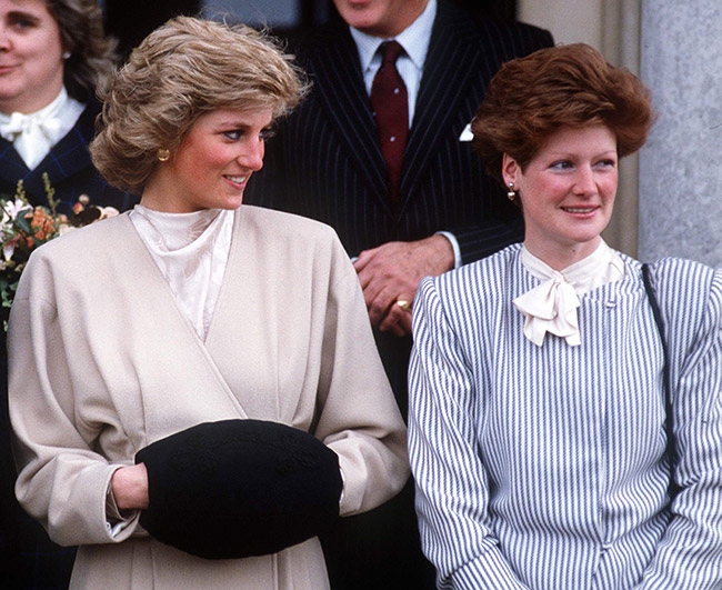 Prince Charles dated her sister Sarah before her Photo C GETTY IMAGES
