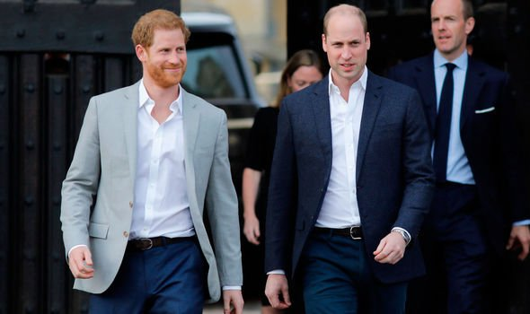 Prince Harry and Prince William have both previously revealed they like tucking into a cheeky Nandos Image Getty