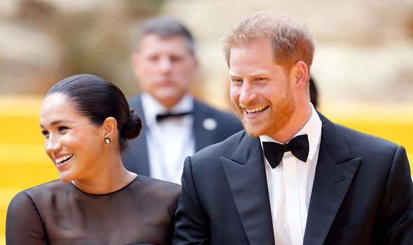 Prince Harry and his wife Meghan Markle Image GETTY