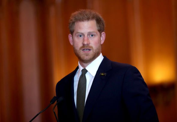 Prince Harry defied tradition during the fifth anniversary of Invictus Games Image GETTY