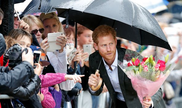 Prince Harry spoke about Diana in Image Getty