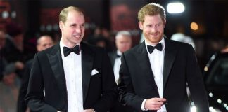 Prince Harry warning Prince Harry and Prince William at the Star Wars Last Jedi premiere in Image Eddie Mulholland WPA Pool Getty Images