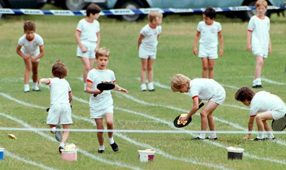 Prince William at sports day in Image GETTY