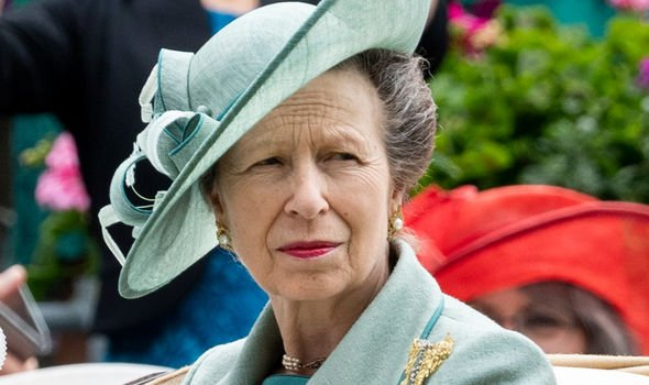 Princess Anne also attended the event to watch her daughter Image GETTY