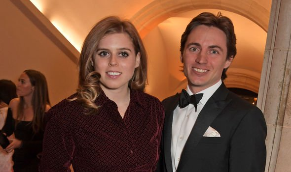 Princess Beatrice and Edoardo Mapelli Mozzi attend The Portrait Gala Image David M Benett Dave Benett Getty Images