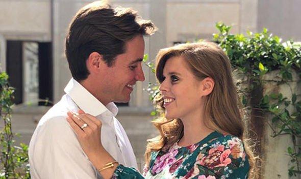 Princess Beatrice is engaged to her boyfriend Edoardo Mapelli Mozzi Image GETTY