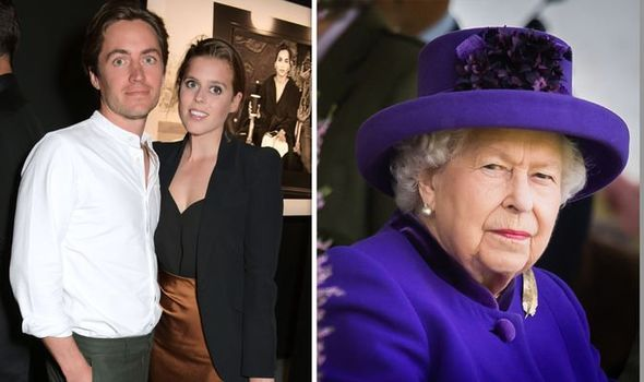 Princess Beatrice wedding How Beatrice's royal wedding date depends on the Queen Image GETTY