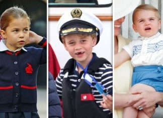 Princess Charlotte Prince George and Prince Louis Image Getty