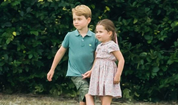 Princess Charlotte and Prince George The royal siblings will now attend the same school Image GETTY