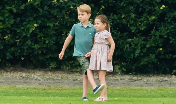 Princess Charlotte and Prince George are known to have a very close relationship Image GETTY