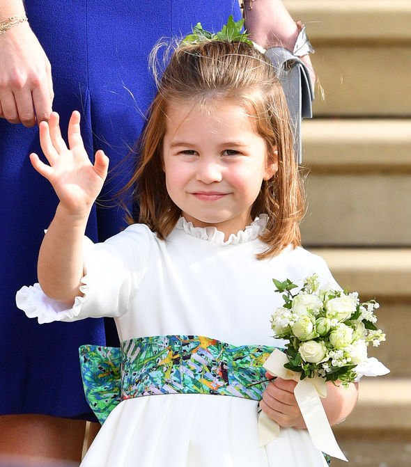 Princess Charlotte is known for being a bit cheeky Image GETTY