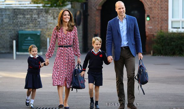 Princess Charlotte news Charlotte attended her first day of school on Thursday Image Getty