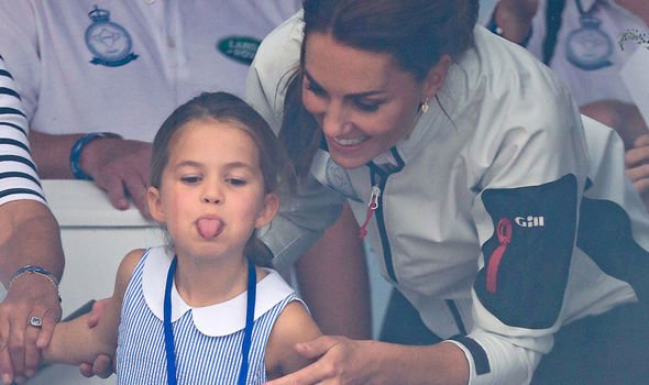 Princess Charlotte news Charlotte has a feisty personality claimed Katie Nicholl Image Getty