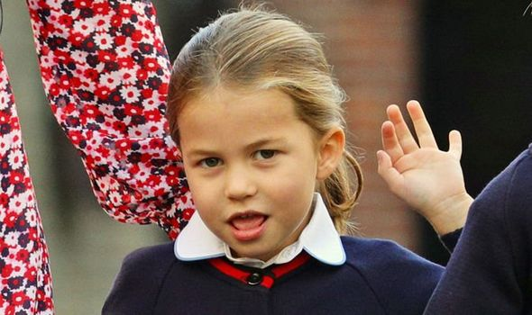 Princess Charlotte news Charlotte was nicknamed Warrior Princess claimed Katie Nicholl Image Getty