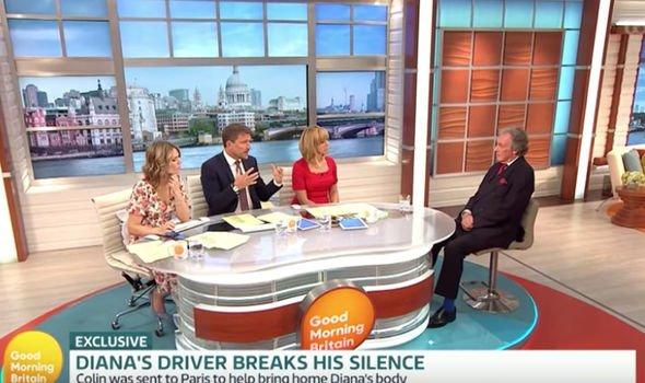 Princess Dianas driver remembers tragic day Image GMB