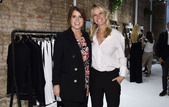 Princess Eugenie pregnant Eugenie stepped out at New York Fashion Week Image GETTY
