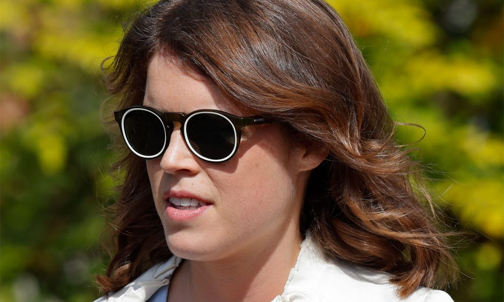 Princess Eugenie shocks in a sharp black suit at New York Fashion Week Photo C GETTY IMAGES