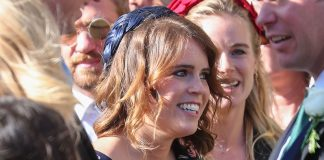Princess Eugenie steps out in her favourite Whistles mini dress – and its on sale for £ Photo C GETTY IMAGES