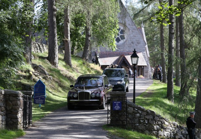Royal family members typically attend church in Balmoral over the summer Photo C GETTY IMAGES