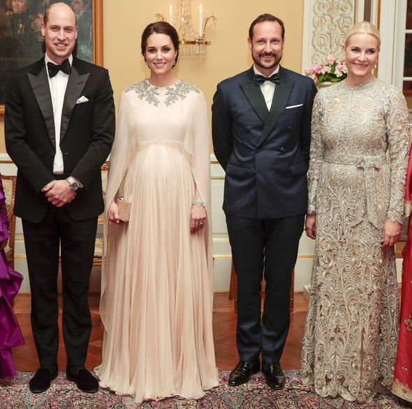 Royal rebel The Norwegian Royals frequently entertain the British Royal Family Image GETTY