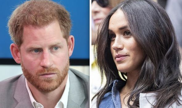 Royal shock Meghan Markle and Harry could RESIGN from royal life 'Nothing to stop them' Image GETTY