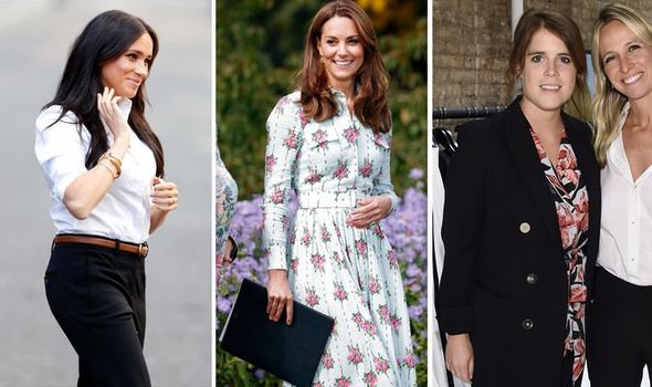 THREE royals pregnant Could Kate Middleton Meghan Markle and Eugenie all be pregnant Image GETTY