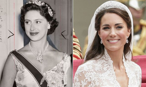 The Duchess of Cambridge famously wore the Cartier Halo Tiara for her wedding day in Image Getty Images