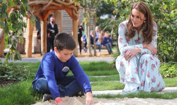 The Duchess of Cambridge is known for her love of nature Image PA