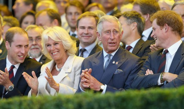 The Duchess of Cornwall apparently gets on well with the princes now Image GETTY