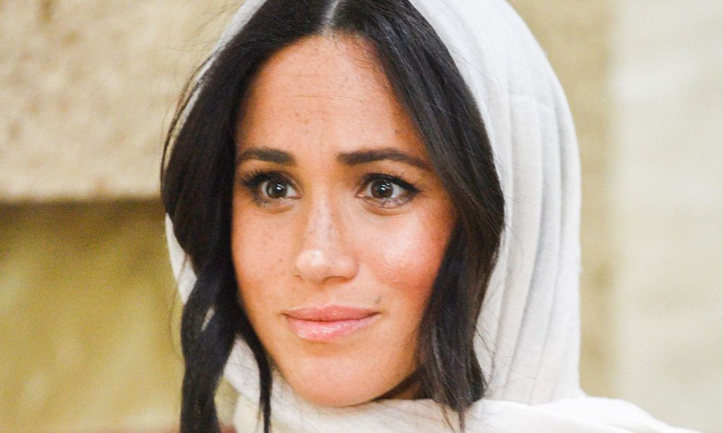 The Duchess of Sussex visited the site where a horrific murder took place Photo C GETTY IMAGES