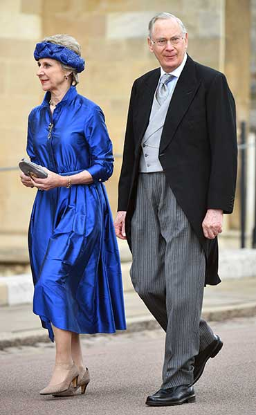 The Duke and Duchess of Gloucester at Lady Gabriella Windsors wedding Photo C GETTY IMAGES
