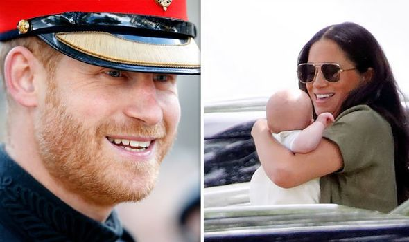 The Duke and Duchess of Sussex and Archie Harrison Image Getty