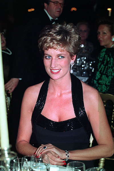 The Princess counted George Michael and Elton John among her close friends Photo C GETTY IMAGES