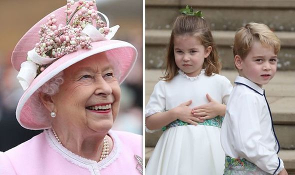 The Queen revealed a crucial difference between Prince George and Princess Charlotte Image GETTY