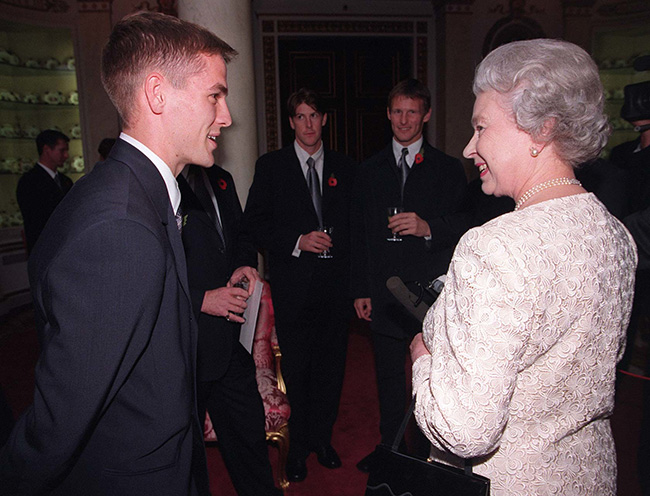 The ex Liverpool forward has met several members of the royal family Photo C GETTY IMAGES