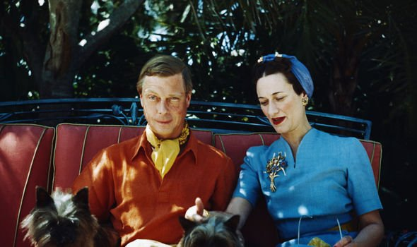 The pair were given the titles of Duke and Duchess of Windsor after the abdication Image Getty Images