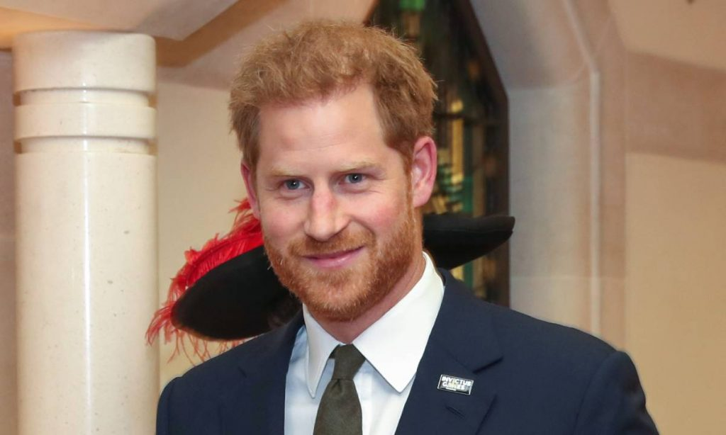 The royal was marking the fifth anniversary of the Invictus Games Photo C GETTY IMAGES