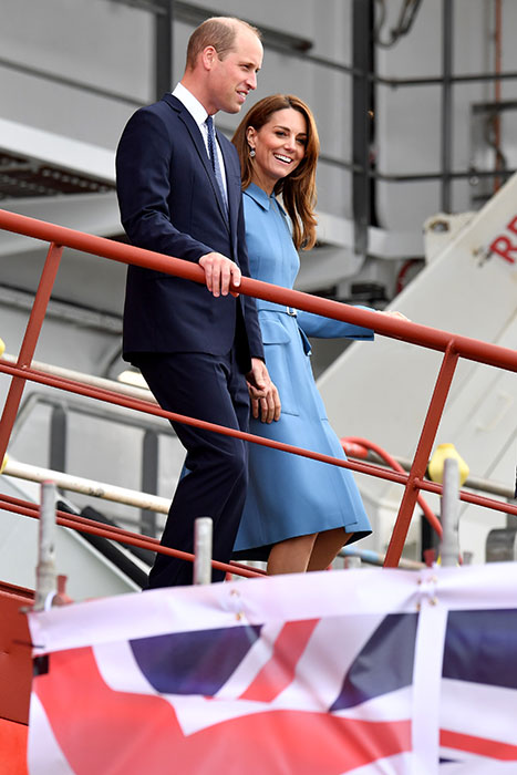 The royals appeared to be in great spirits Photo C GETTY IMAGES