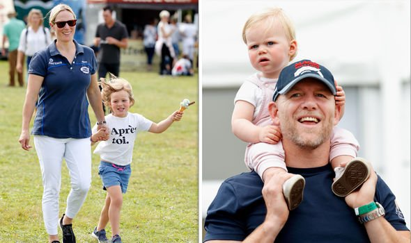 Zara Tindall children They have two daughters Mia left and Lena right Image GETTY