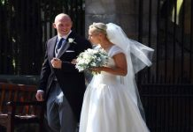 Zara Tindall husband Zara and Mike Tindall at their wedding in Scotland Image Getty Images