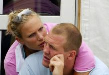 Zara Tindall romance Zara and Mike started dating in Image GETTY