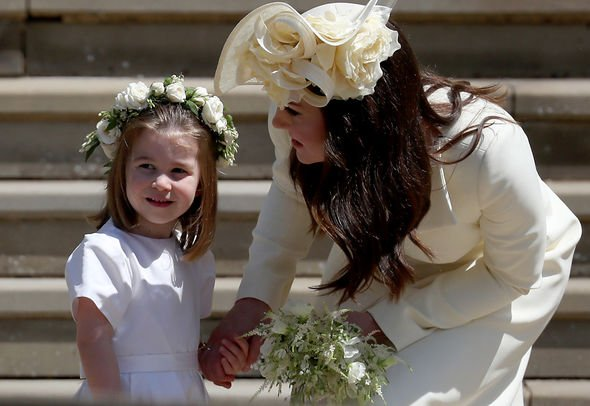 Zara Tindall snub Princess Charlotte was a bridesmaid Image GETTY