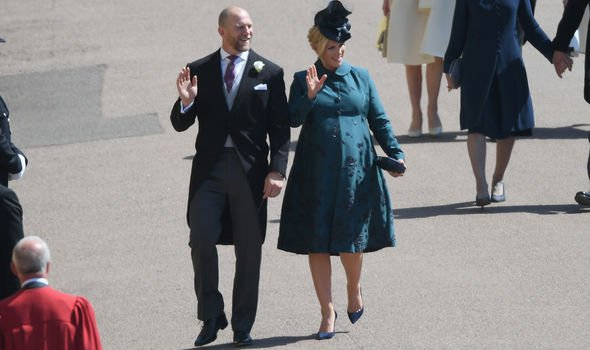 Zara Tindall snub Zara was pregnant with her second daughter Lena at the May wedding Image GETTY