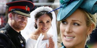 Zara Tindall went viral after images of last years royal wedding Image GETTY